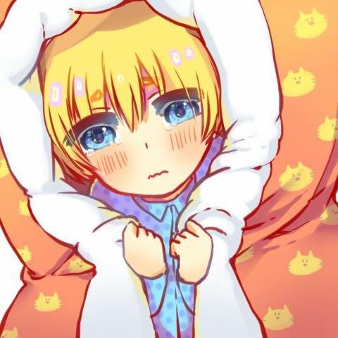 Non,non et non Armin ,je ne te donnerais pas un futon supplémentaire pas la peine de me faire ces yeux de chiant battu *sur le point de craquer * ;-;