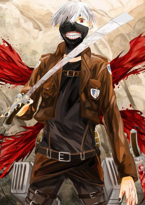 Attack on ghoul