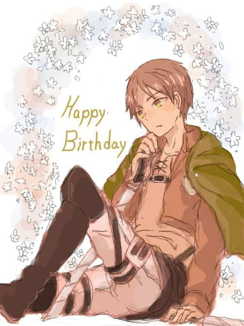 Joyeux anniversaire Eren!