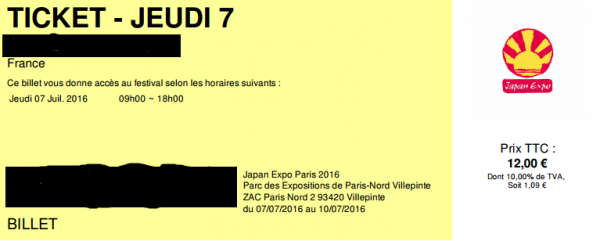 Putain de cosplay TT0TT ----> c'est officiel je vais à la Japan expo le 7 Juillet 2016