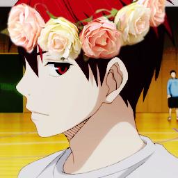 """Akashi-Kun """"couronne de fleurs"""""""