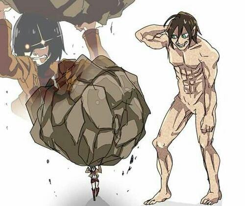 Maman Mikasa à la rescousse XD