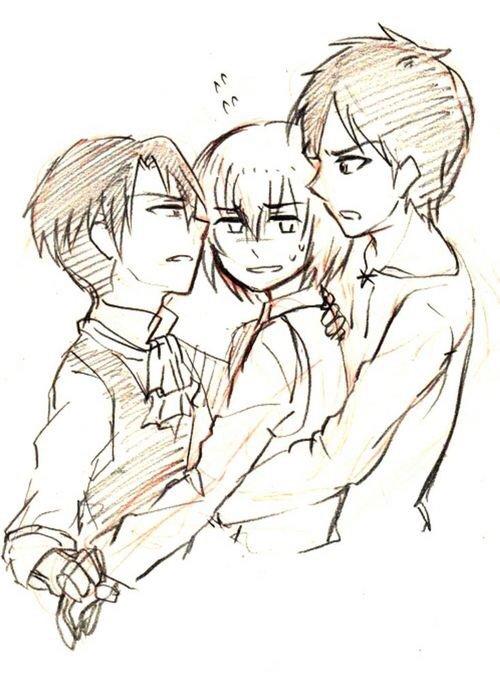 Os: Armin x Levi