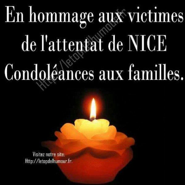 Pour les victimes de Nice à la marche des Anglais