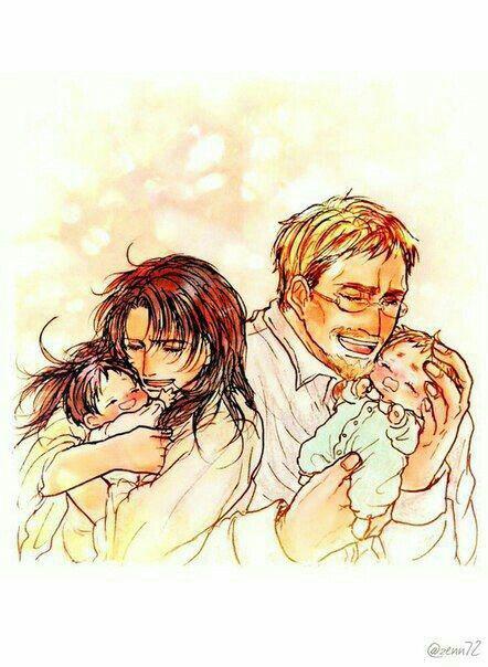 Erwin et Levi bébés