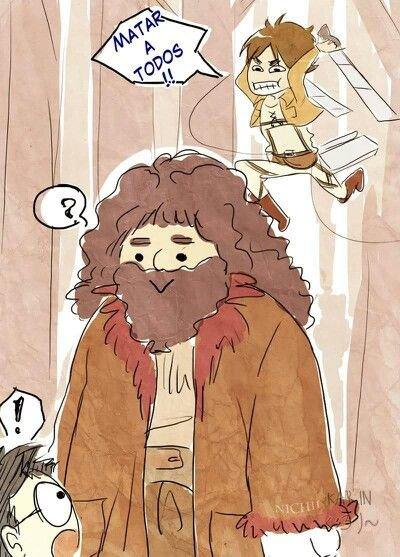 Retourne toi Hagrid un conseil XD