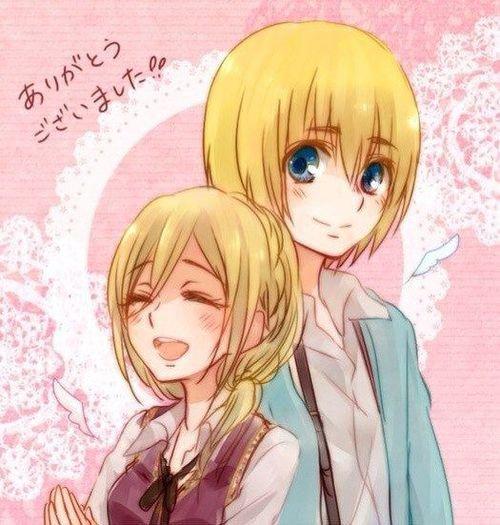 Os: Armin x Historia