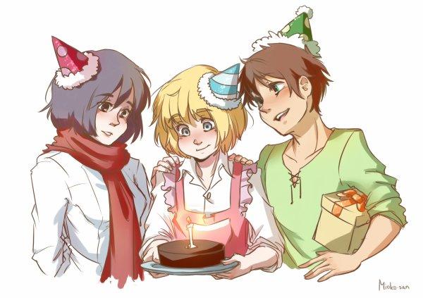 Joyeux anniversaire Armin ♥
