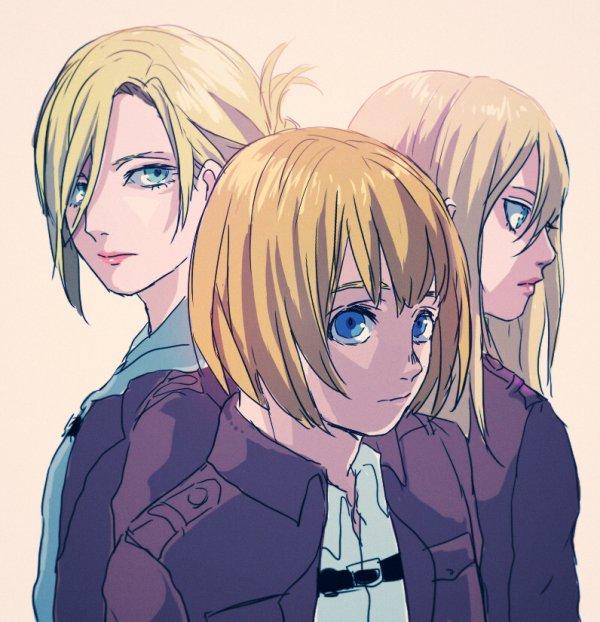 Os: Annie x Armin x Christa