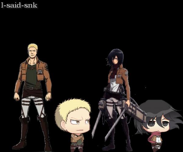 Os : Reiner x Mikasa [Défis de S-H-A-R-A]