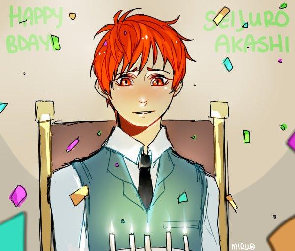 Joyeux anniversaire à Sei-Kun et à Kaneki-kun ♥