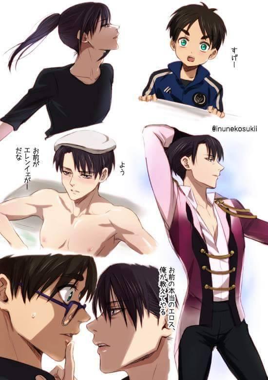 Ereri version Yuri on ici -Je te vénère Lena-sama *0*