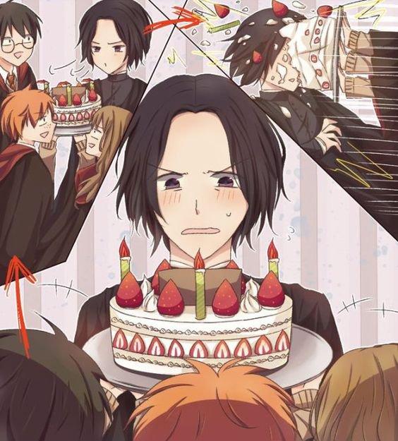 Joyeux anniversaire professeur Rogue (Snap )