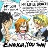 Pauvre Koala qui s'en prend pleins les oreilles , Luffy par ci Luffy par là XD