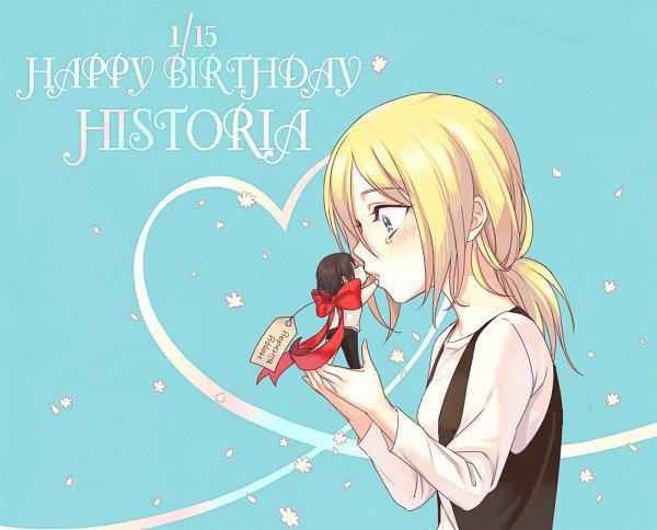 Un très bon anniversaire à notre Reine Historia Reiss ( Christa Lenz)