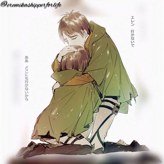 Os: Eren x Mikasa numéro 12