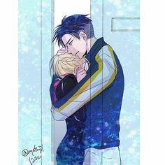 "Two shot Yuri on ice: "" Une toute nouvelle famille "" -partie II"