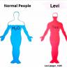 La vérité sur Levi XD- Levi vs gens normaux