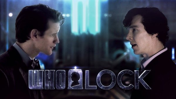 Os Wholock: Sherlock x Doctor Who