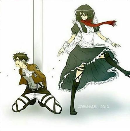 Joyeux anniversaire Mikasa (ou pas '^')