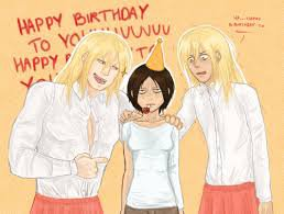 Joyeux anniversaire Ymir ^^
