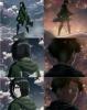 Levi et Mikasa  , la similitude *0*