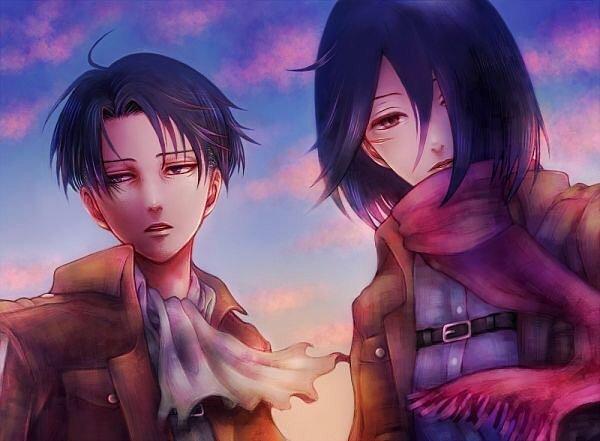 Os: Levi x Mikasa numéro 5