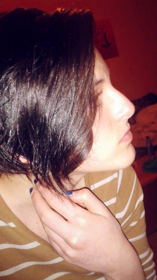Un peu d'éclaircissement dans les cheveux ^_^ ça fait du bien :o