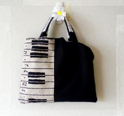 I also make bags of the Piano shape.