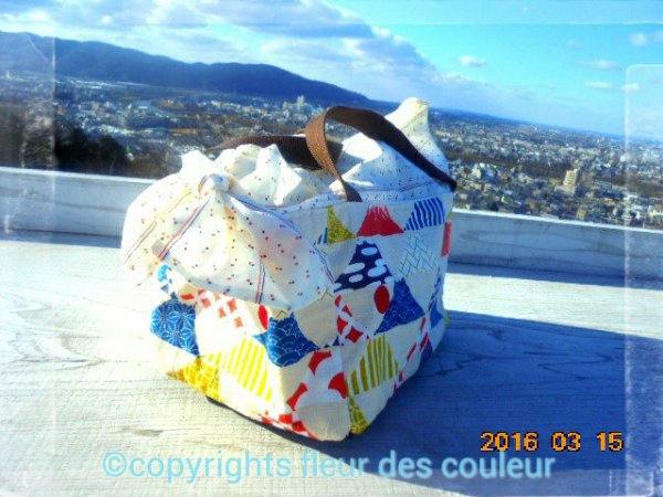 It is Mt. Fuji handle bag.