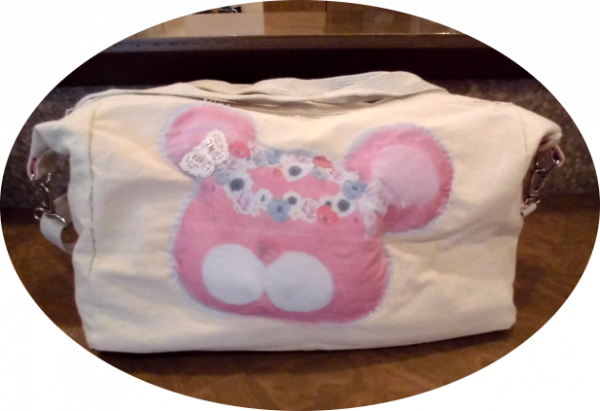 I made a bag with a trademark character.