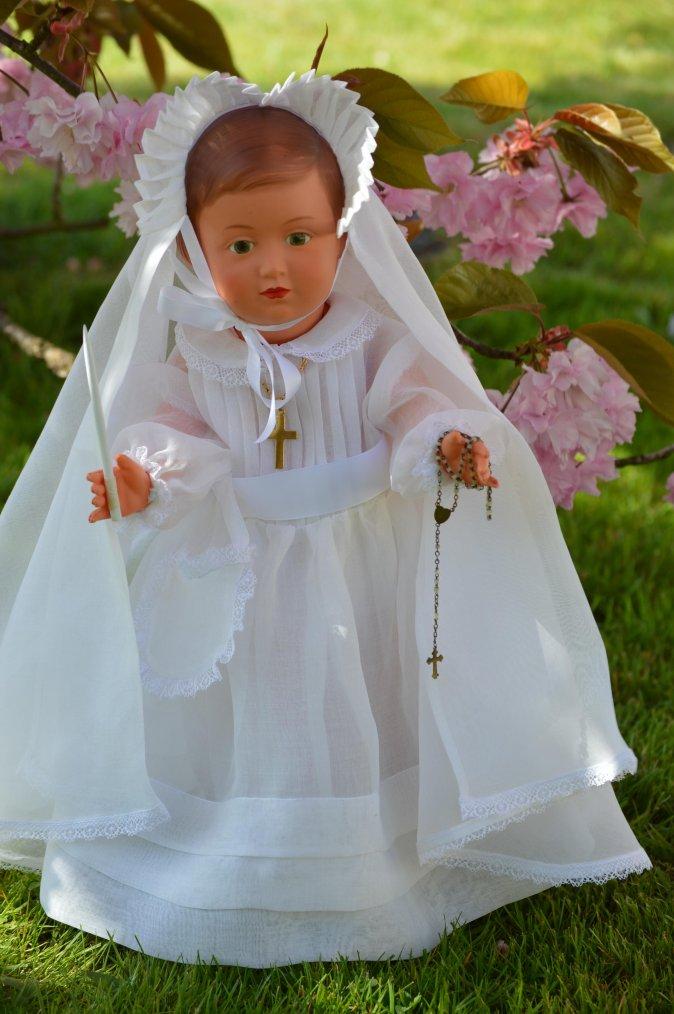 Françoise fait sa 1ère communion !!!!