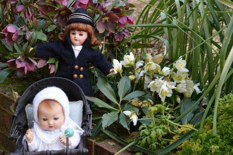 Bambino fait le tour du jardin  !