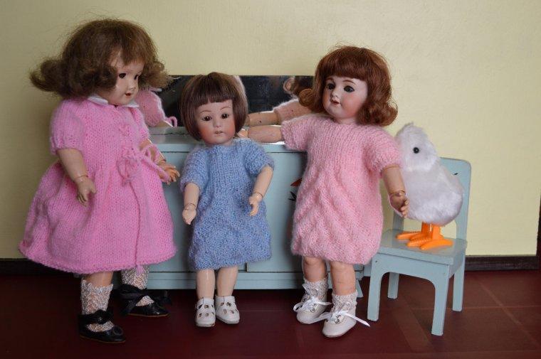 Joyeuses pâques avec Loulotte et Bleuette  !!