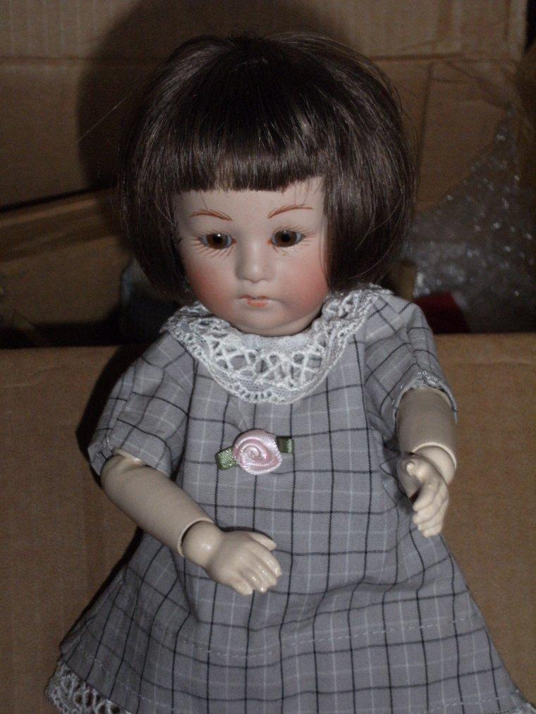 Loulotte à son arrivée à la maison  !