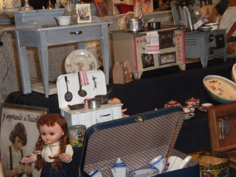 Quelques photos du salon des jouets anciens de Betton !!