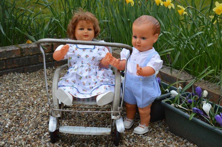 Françoise à rotules et petit Colin  !