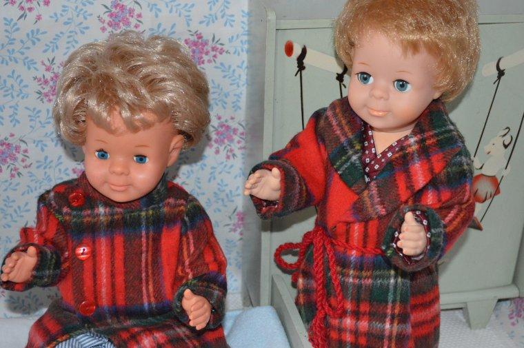 Michel et Jean-Michel étrennent leur robe de chambre