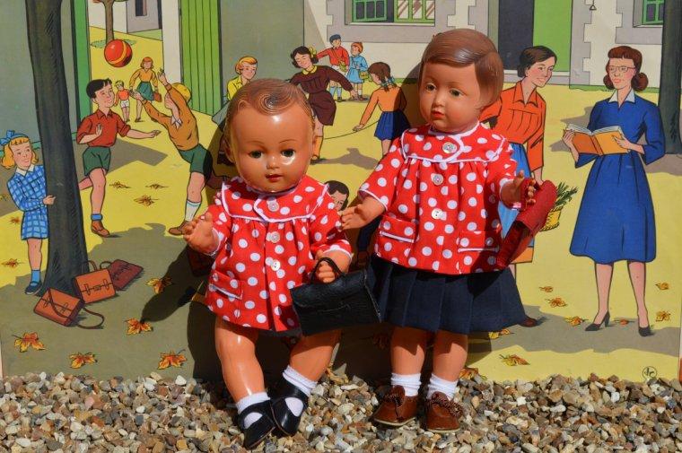 septembre  le mois de la rentrée pour les poupées mais pas que  !!!