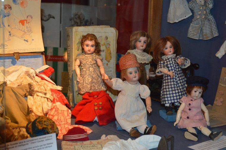 quelques photos de notre visite au musée de Guérande  !