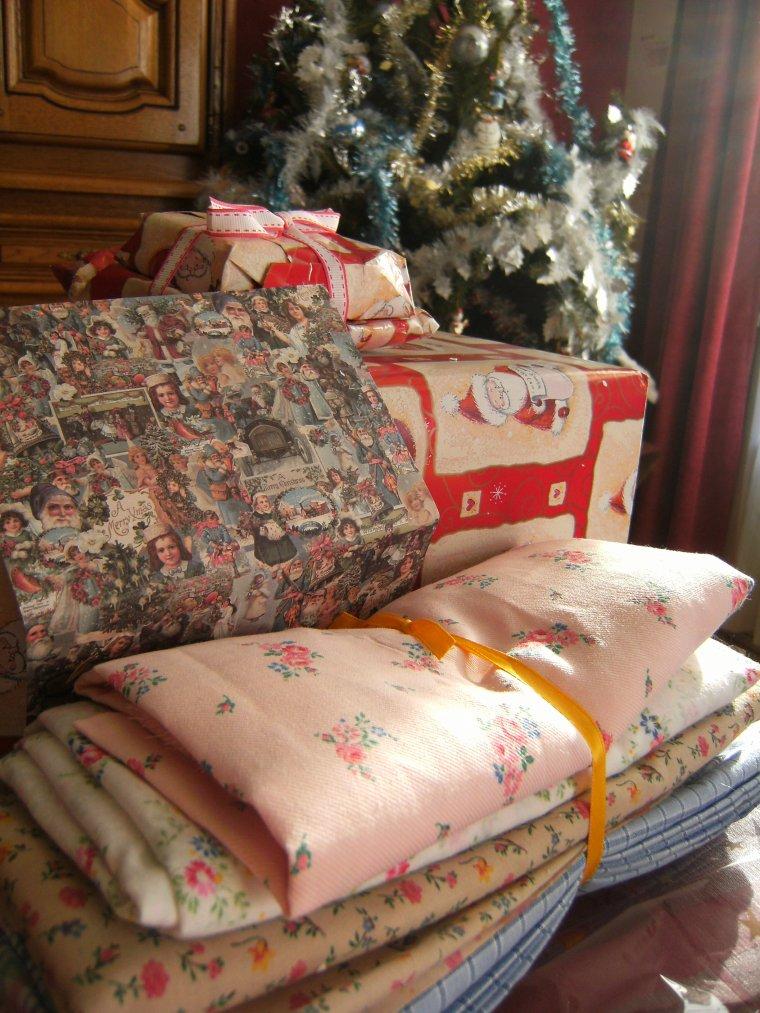Les cadeaux de Noël de mes amies !