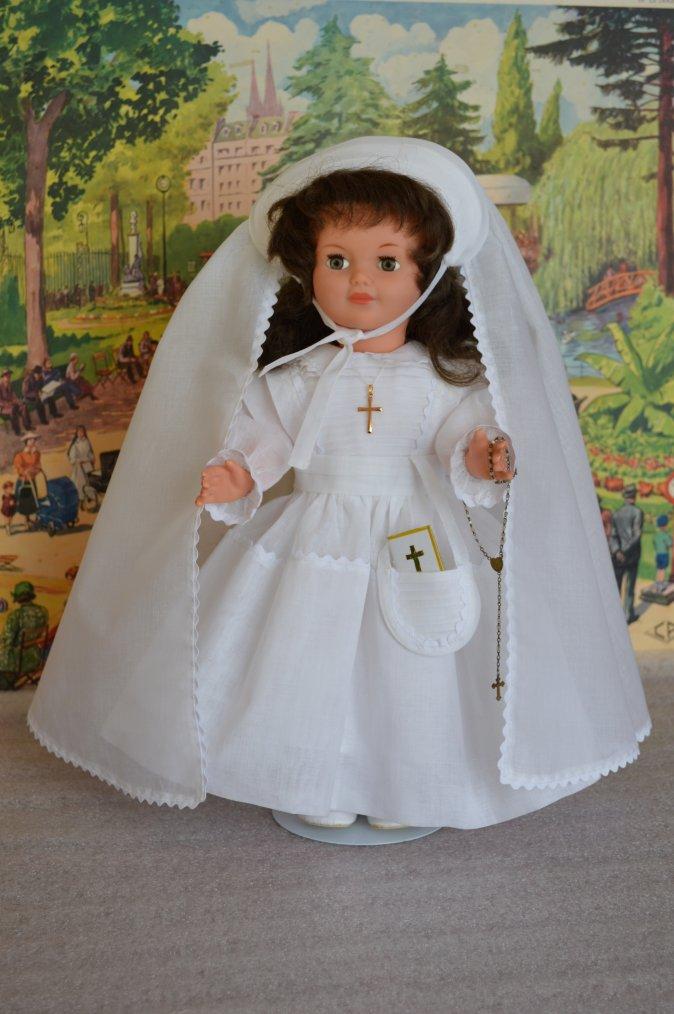 La communion de Marie-Françoise    Avril 1959