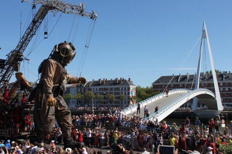 Les géants du royal de luxe de retour au Hare pour les 500 ans de la ville !
