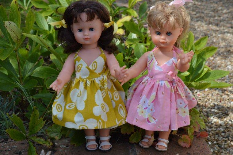 Les petites robes d'été pour Emilie  !!