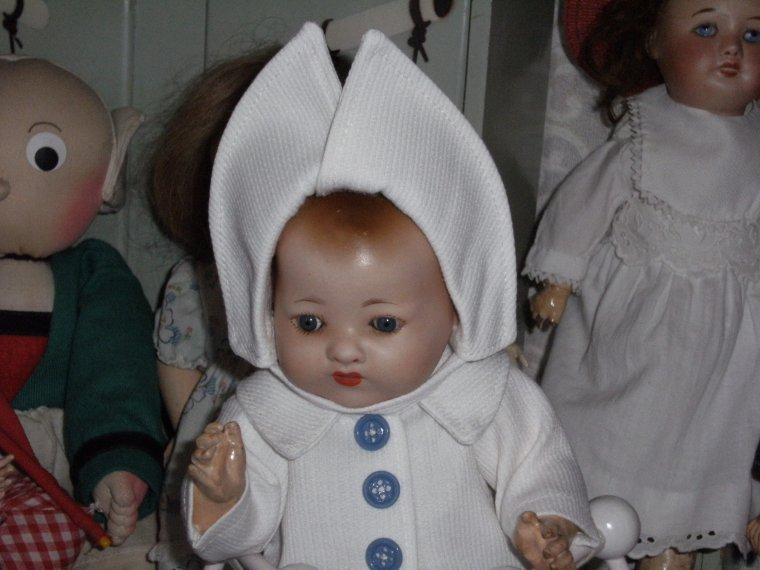 Le manteau en piqué pour Bambino  !