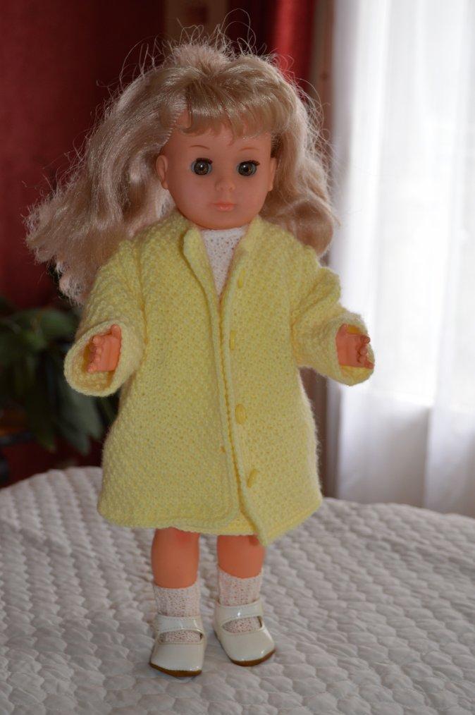 Marie-Françoise s'habille de laine pour vous souhaiter un bon weekend  !!