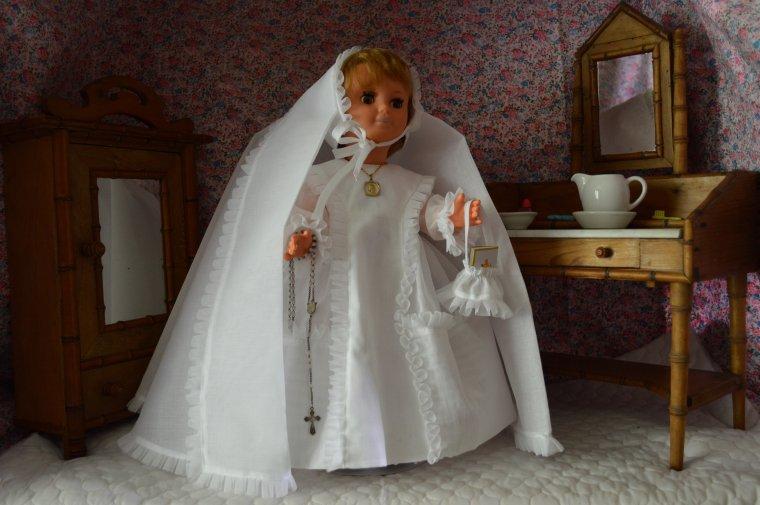 c'est le grand jour pour Marie -Françoise en ce mois de Mai 1967