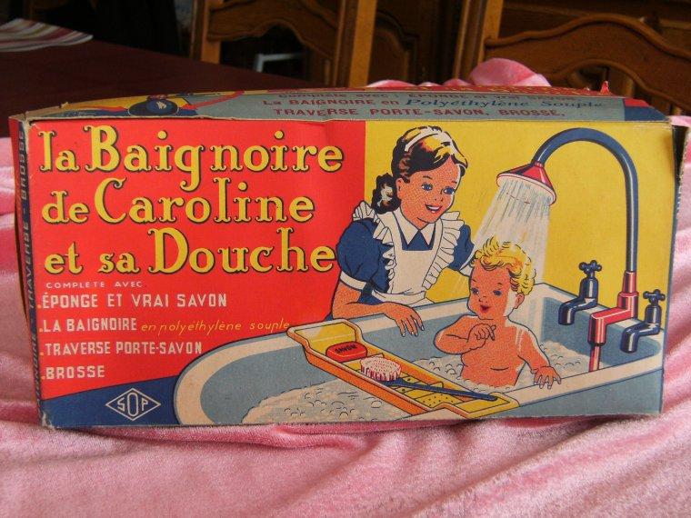 La baignoire de Caroline   pour poupéesdemy mais pas que !!!