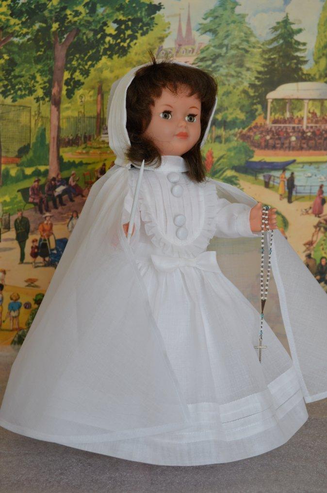 Demain Marie-Françoise fait sa première communion  !