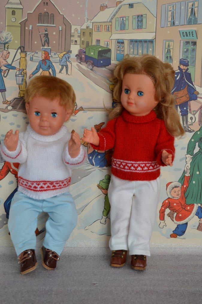 La ronde des poupées en rouge  !!